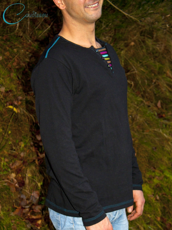 Tshirt-Homme-Manches-Longues