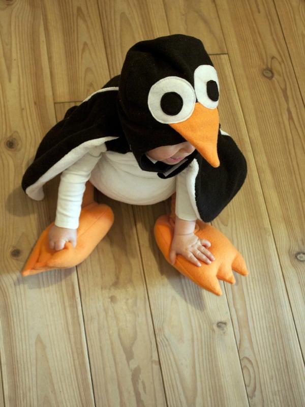 Déguisement-pingouin