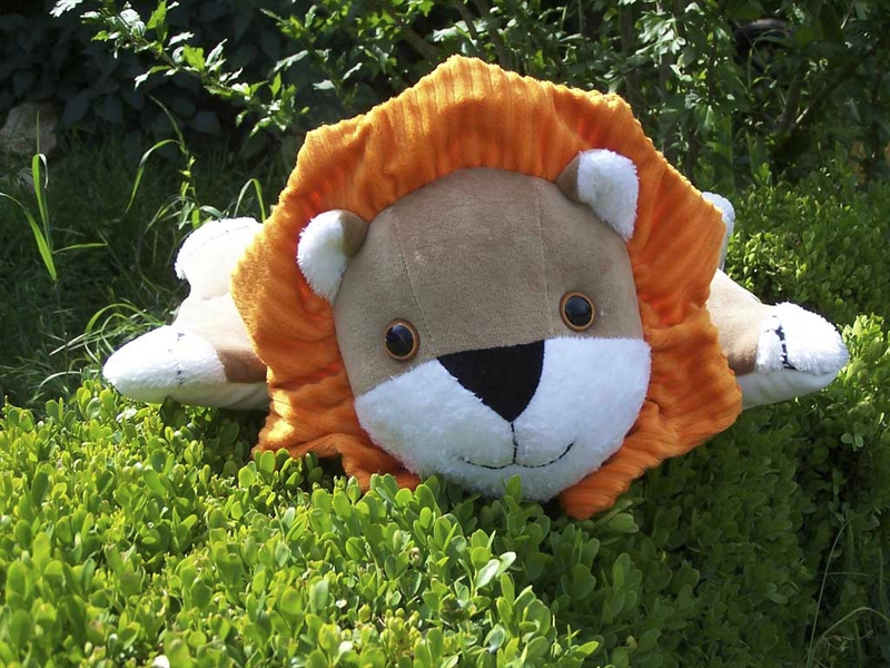 Doudou-Lion-Buis