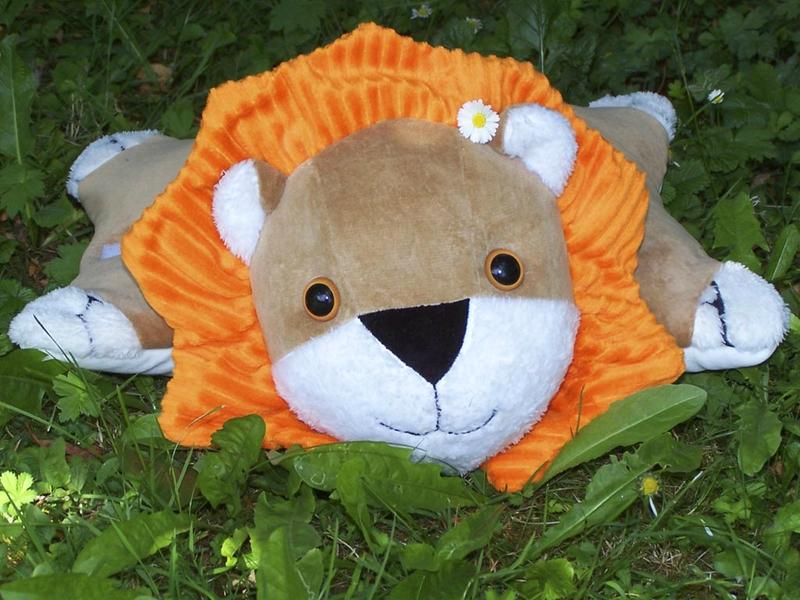 Doudou-Lion-Paquerette