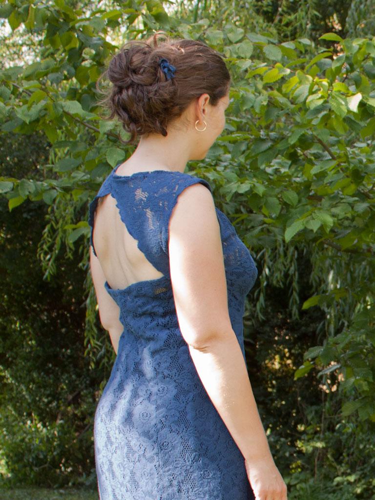 Ma robe en dentelle caudissou - Coudre une fermeture eclair sur une robe ...