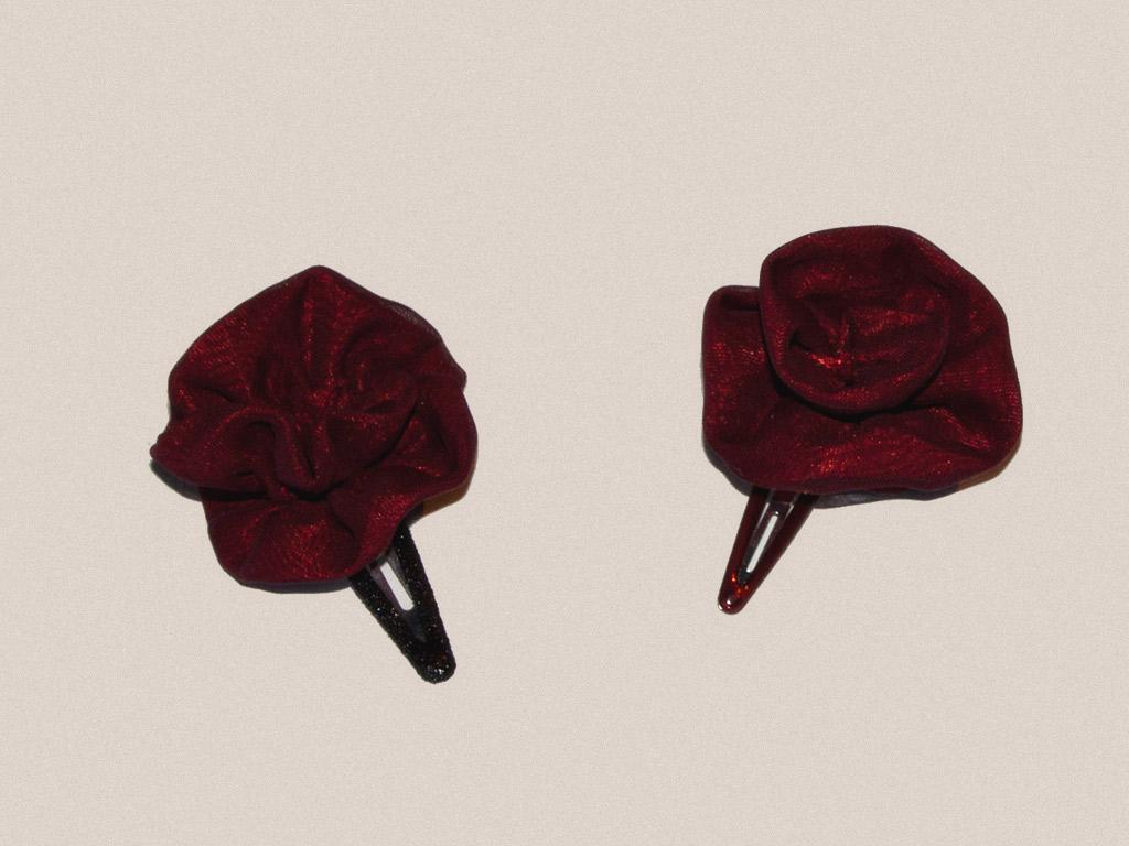 barrettes-roses-en-tissu
